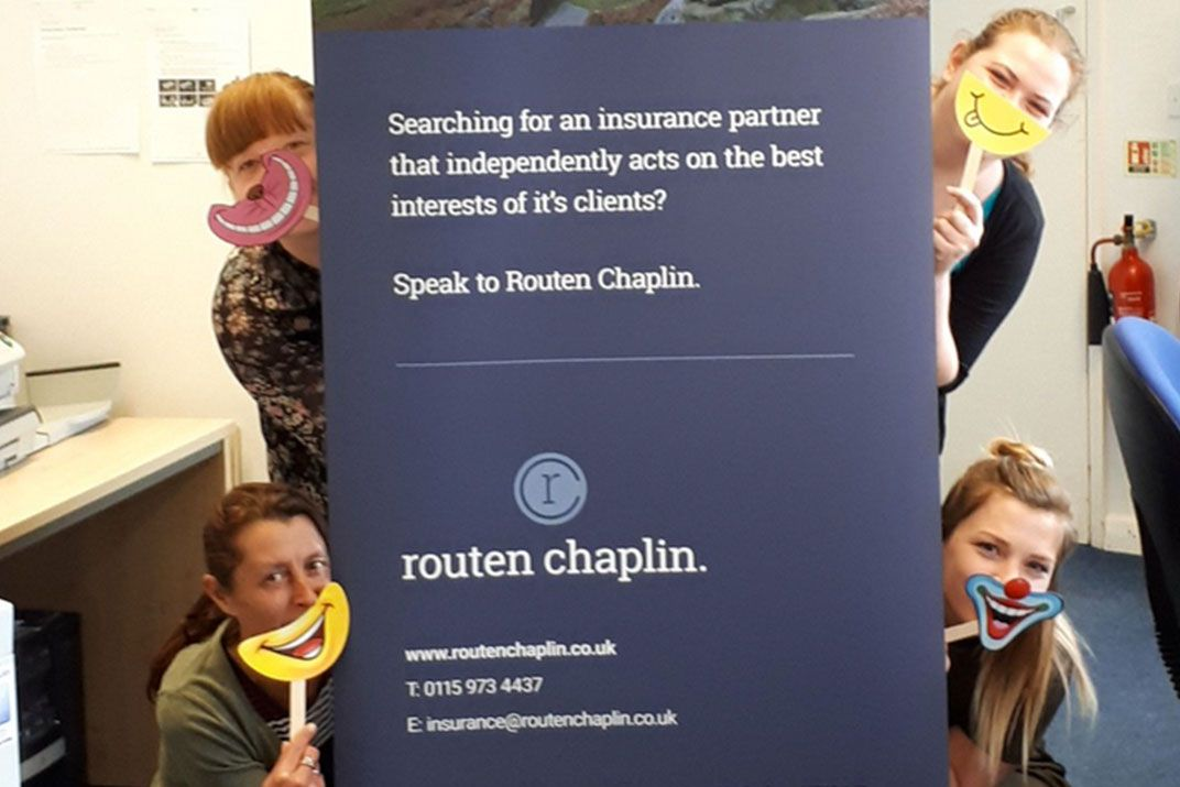 Routen Chaplin are #happybrokers